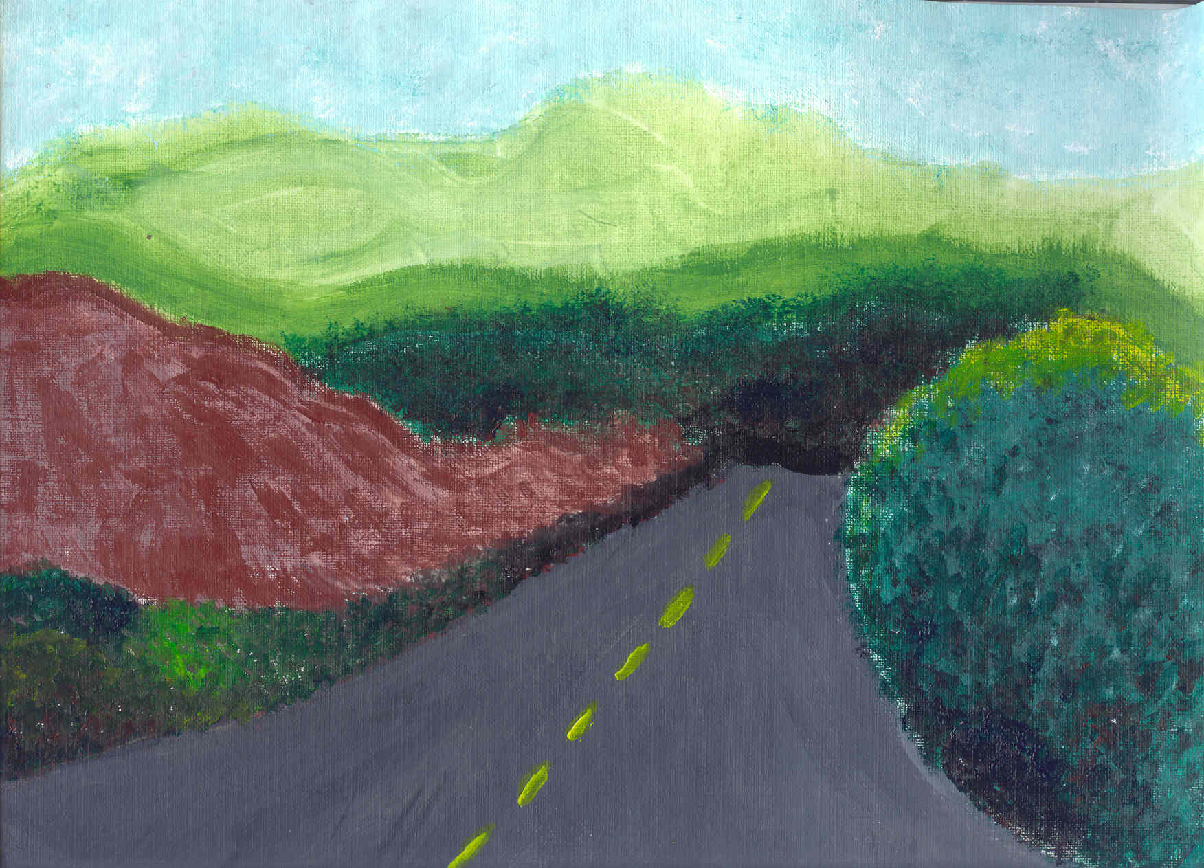 The End of the Road-2005 Copyright Yolanda Berry