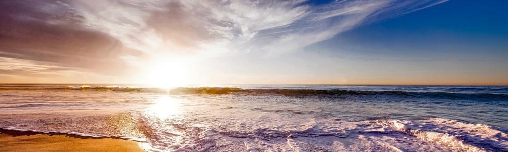 beach ocean sand