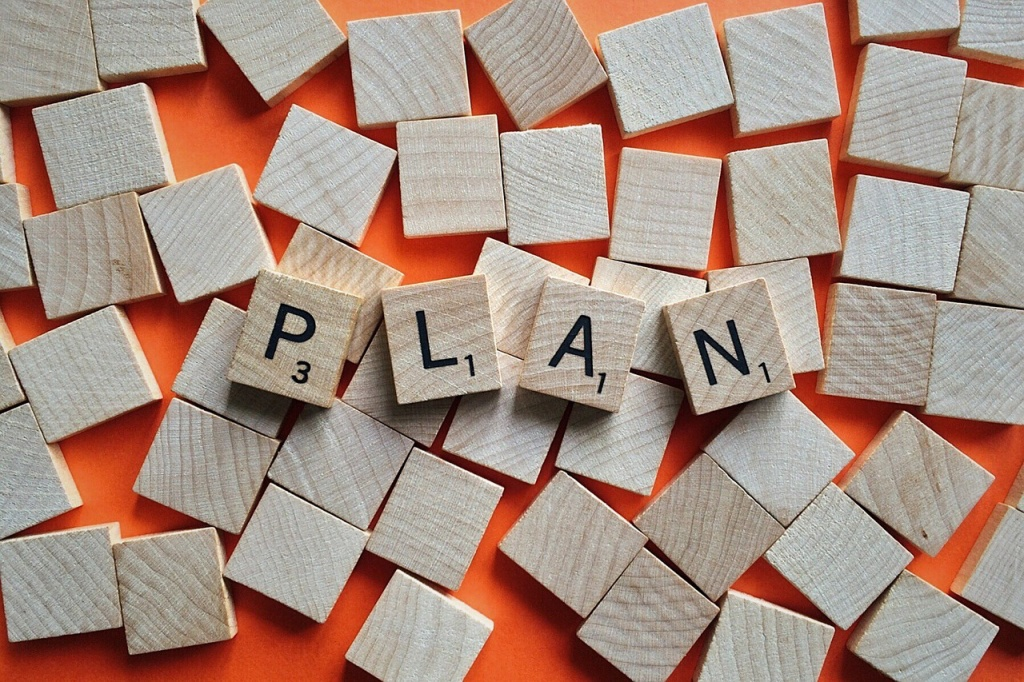 Plan, scrabble, game plan